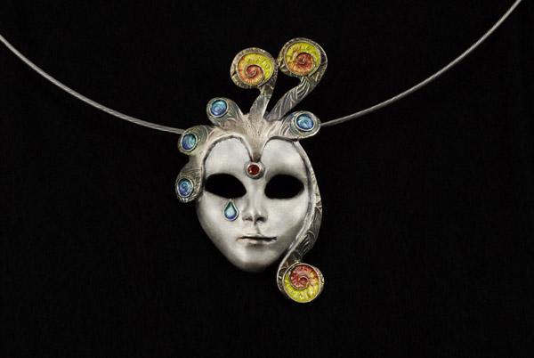 Isabella di Venezia - Kettenanhänger aus Silber - copyright: Bijoux QréationS